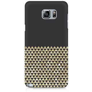 CopyCatz Golden Honeycomb Premium Printed Case For Samsung Note 5