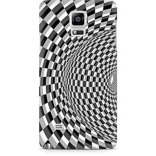 CopyCatz Illusion Checks Premium Printed Case For Samsung Note 4 N9108
