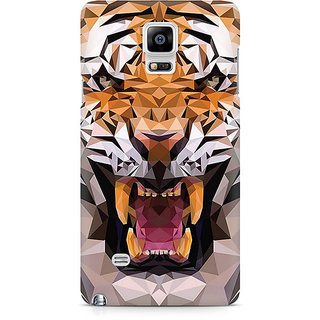 CopyCatz Roaring Tiger Premium Printed Case For Samsung Note 4 N9108