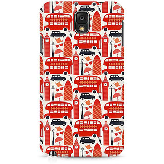 CopyCatz Travel In London Premium Printed Case For Samsung Note 3 N9006
