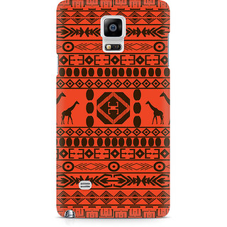 CopyCatz Giraffe Print Premium Printed Case For Samsung Note 4 N9108