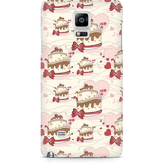 CopyCatz Cherry Cake Premium Printed Case For Samsung Note 4 N9108