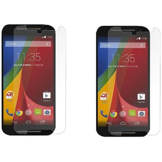 Pack of 2 Tempered Glass for Moto G2(2nd Gen)