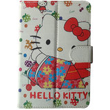 Corcepts Hello Kitty  Tablet flip Cover for HCL ME Connect 2G 2.0 Tab V2