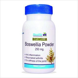 HealthVit Boswellia Powder 250 mg 60 Capsules For Healthy Joints