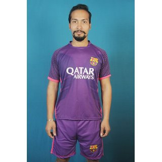 New barsa football club Jersey with shorts