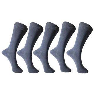 Grey School Kids Cotton Socks - Pack of 10 Pair