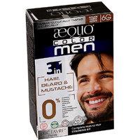 Aequo Color Men 6G Golden Coffee Brown Organic Hair Colour Kit - 160ml