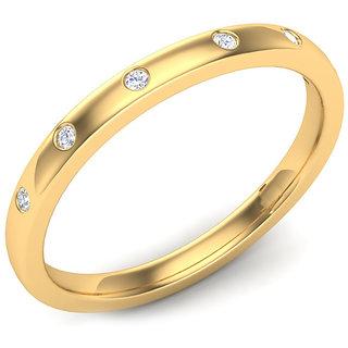 Kataria Jewellers The Agneta 92.5 BIS Hallmarked Silver and American Diamonds Designer Ring