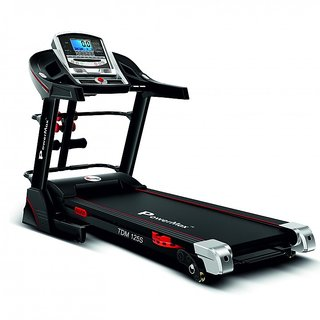 POWERMAX FITNESS TDM 125S - Auto Lubricating Motorised Treadmill