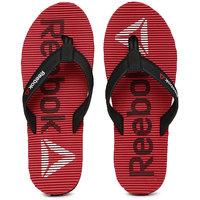 Reebok Men Black  Red Flip-Flops