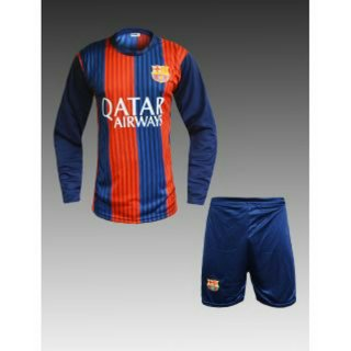 Multi color barsa footboll Jersey whit shorts