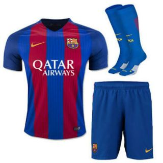 New home barsonala club jersey with shorts