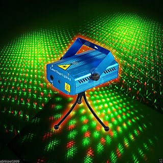 Mini DJ Laser Stage Light For Disco Party Club/Diwali/Xmas/Function