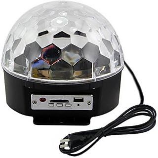 Vrct Voice Activated LED Crystal Magic Ball with DMX 512 for DJ Disc Party