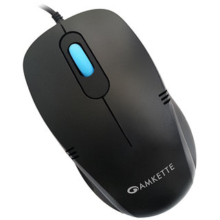 Amkette Kwik Pro Optical Mouse KP-10 USB With Premium Design and Superior Grip