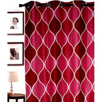 Furnix Printed Eyelet Door Curtain D.No. 3005-1Pc