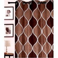 Furnix Printed Eyelet Door Curtain D.No. 3006-1Pc