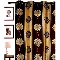 Furnix Printed Eyelet Door Curtain D.No. 3009-1Pc