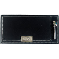 Imported MEMO PAD With Post It Slips In Faux Leather Finish With Pen Holder -M4