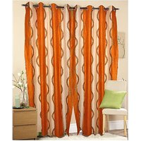 Furnix Printed Eyelet Door Curtain D.No. 6002-1Pc