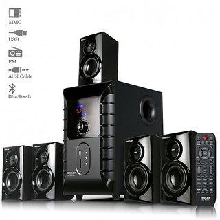 Truvison SE- 6055 BT 5.1 Multimedia Speaker with Bluetooth USB FM AUX MMC