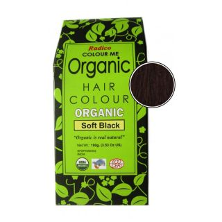 Radico Organic Hair Colour Powder-Soft Black