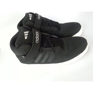 Adidas High Ankle Basketball Sneakers Passion BLACK