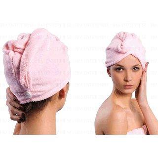 FeelBlue Microfiber Hair Wrap Fast Drying Towel Soft Cap