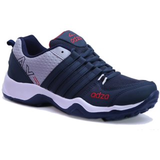 Adza Mens Blue And Navy Running Shoes: Buy Adza Mens Blue And Navy ...