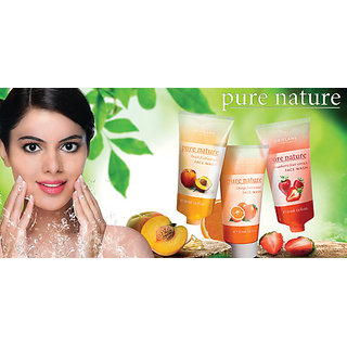 Pure Nature Strawberry Fruit Extract Face Wash - 50ml