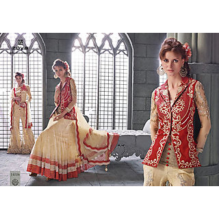 Salwar Soul Designer Red Banglori Embroidery Dress Materials