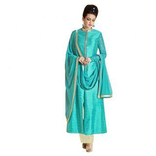 Salwar Soul Nakshi Bhagalpuri Strait Suit For Girls For Specail Uses In wedding, engagement