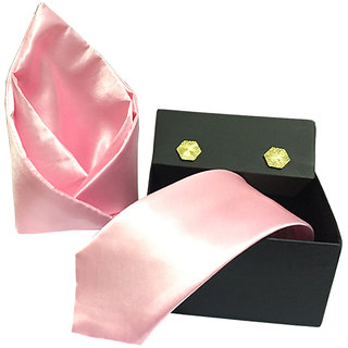 Vibhavari Men's  Tie,  Pocket Square & Cufflinks Vibhavari Men's  Tie,  Pocket Square & Cufflinks
