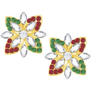 Shostopper Butterfly Gold Plated Australian Diamond Earring