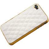 Kolorfish IPlaid Back Case For IPhone 4/4S (WHITE)