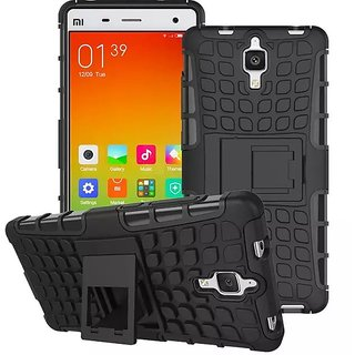 Superb Quality Defender Armor Dual Shockproof Back Case Redmi Mi4