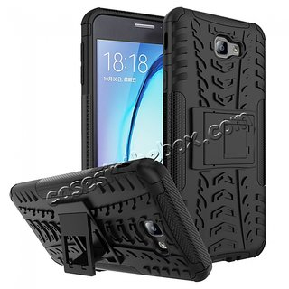 Superb Quality Defender Armor Dual Shockproof Back Case Samsung J5 Prime
