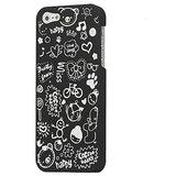 Kolorfish ILove Back Case For IPhone 5 (BLACK)