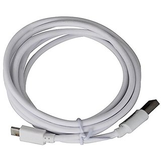 JPW 2 Meter Micro USB Charging Cable  (White)