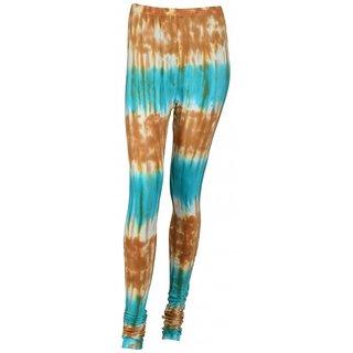 SUNDARAM Girls Cotton Leggings (SACTD0029 Multi-Coloured)