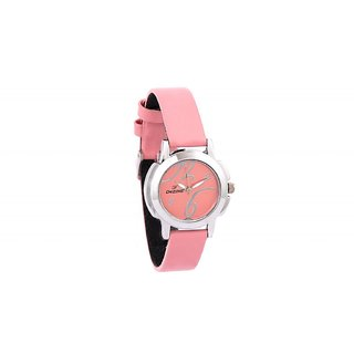 Dezine's DZ-LR008-PNK-PNK Analog Women's Watch