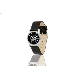 Dezine's DZ-LR011-BLK-BLK Analog Women's Watch