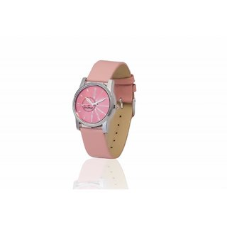 Dezine's DZ-LR011-PNK-PNK Analog Women's Watch