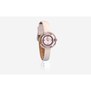 Marco's MR-LR100-PRP-WHT Analog Women's Watch