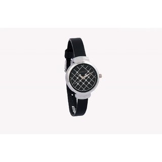 Marco's MR-LR102-BLK-BLK Analog Women's Watch