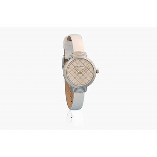 Marco's MR-LR102-WHT-WHT Analog Women's Watch