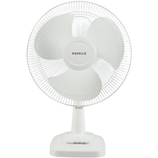 Havells 400 Mm Table Fan Velocity Neo White available at ShopClues for Rs.2037