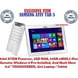 "SAMSUNG ATIV Tab 5, Intel ATOM, 2GB RAM, 64GB eMMC, 2in1, 11.6""Display, Windows8"