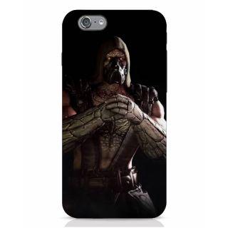Stubborne Scorpion Fist Multicolor 3D Printed Apple Iphone 6S Back Cover / Case